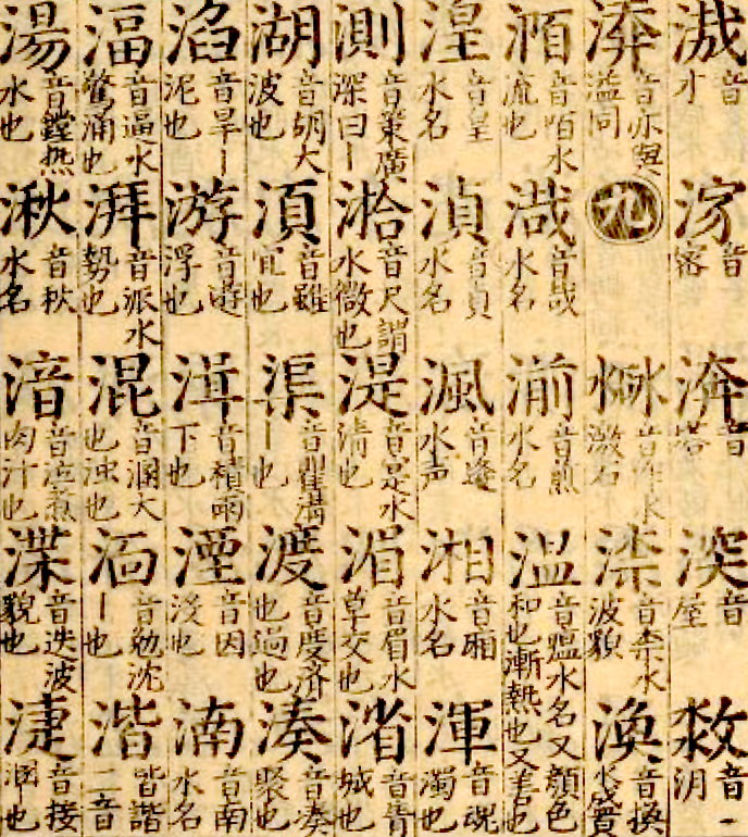 How to arrange entries in a 16th century Chinese dictionary