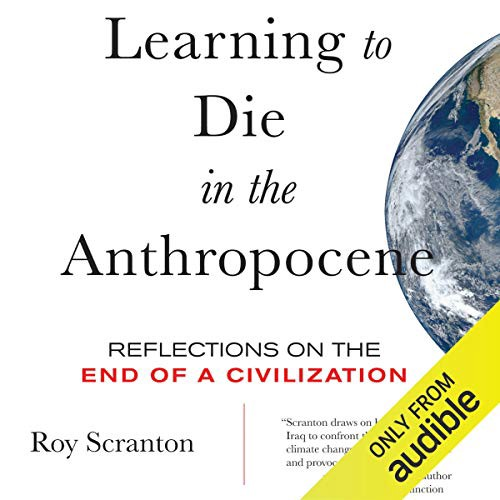 "Image of a book cover ""Die in the Antropocene Era"