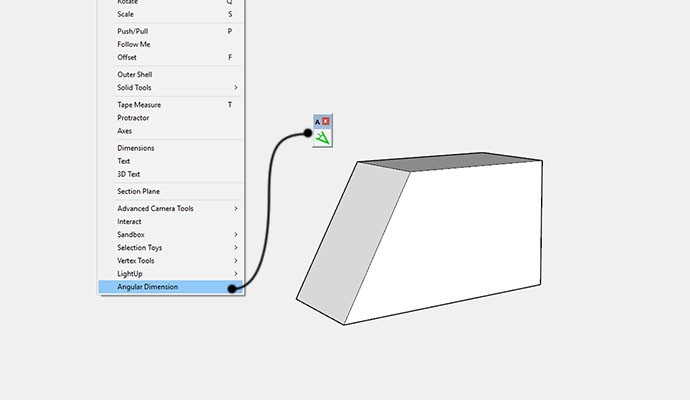 Adding Angular Dimensions To Sketchup By Rich O Brien