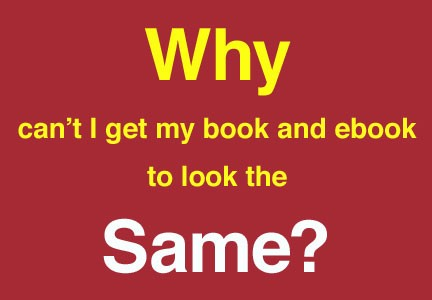 why your ebooks don't look like print books – toni ressaire – medium