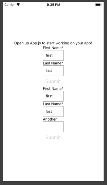 Data Driven Forms in React - codeburst