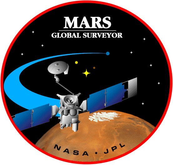 Mars Global Surveyor Görevi Rozeti
