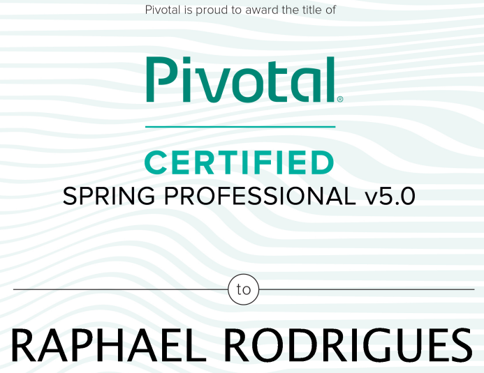 How I Became A Pivotal Spring Professional Certified 5 0