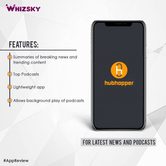 App Review] Hubhopper : A Delhi-based App for Podcast Lovers