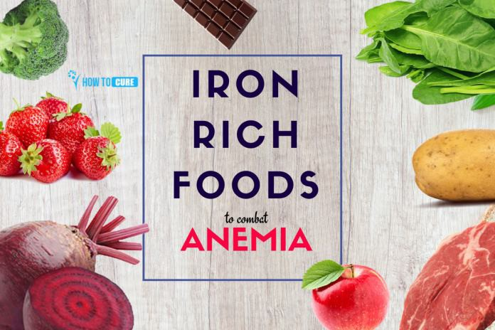 5 Amazing Iron Rich Foods that can help to Combat Anemia | by Emylee  Modestino | How To Cure | Medium