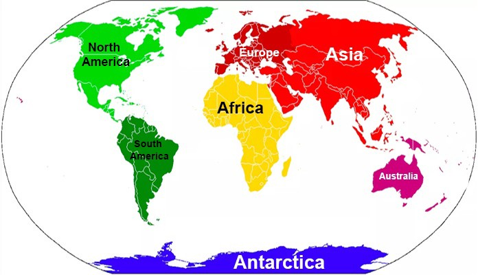 7 continents world map 7 Continents Of The World With Map By Hours Tv Medium 7 continents world map