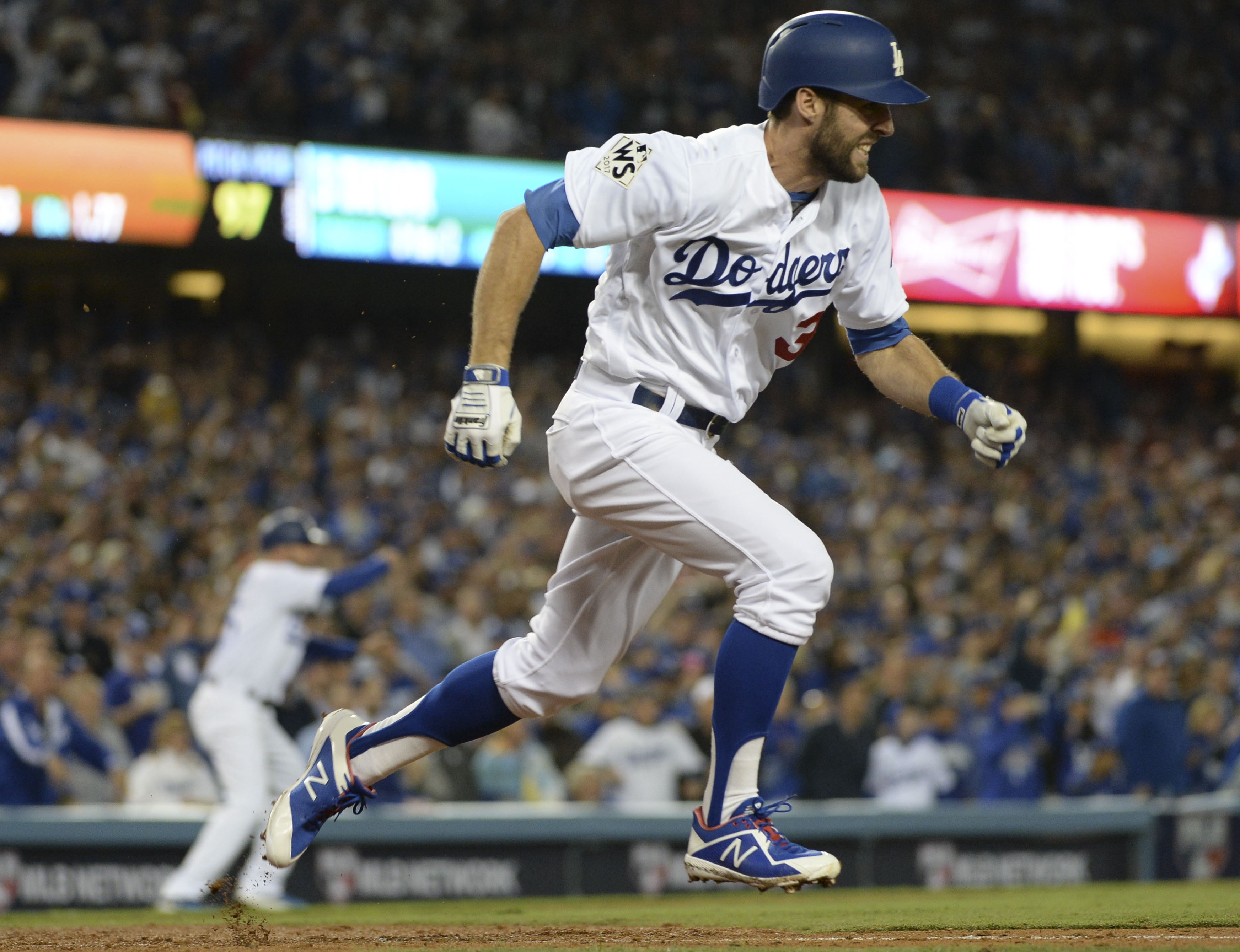 resilient dodgers       play  world series game