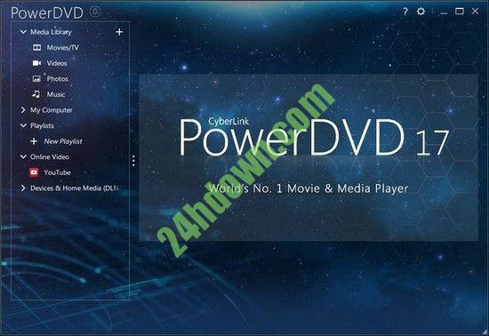 cyberlink powerdvd 17 free download full version with crack