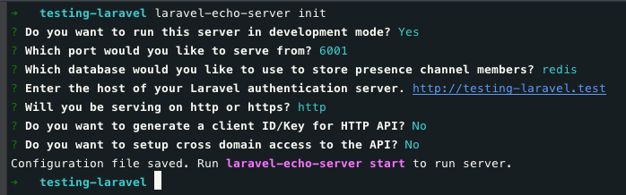 Laravel Echo Server — How To - Noteworthy - The Journal Blog