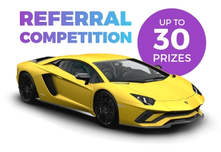 Win A Lamborghini Aventador: IAGON Referral Competition