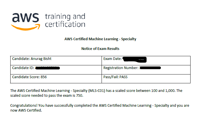 Acing the AWS Certified Machine Learning Specialty Exam like a Pro