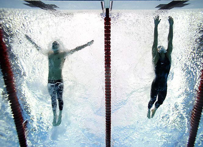 Phelps and Cavic / 2008 Olympics