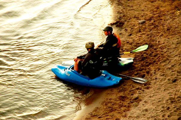 kayakers on the clark fork/meaghen brown