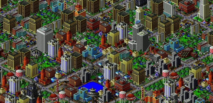 Sim City 2000 (1994) / ELECTRONIC ARTS