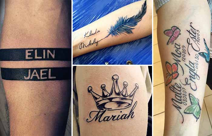 60+ Name Tattoos to Make Your Decision Easier - tattolover - Medium