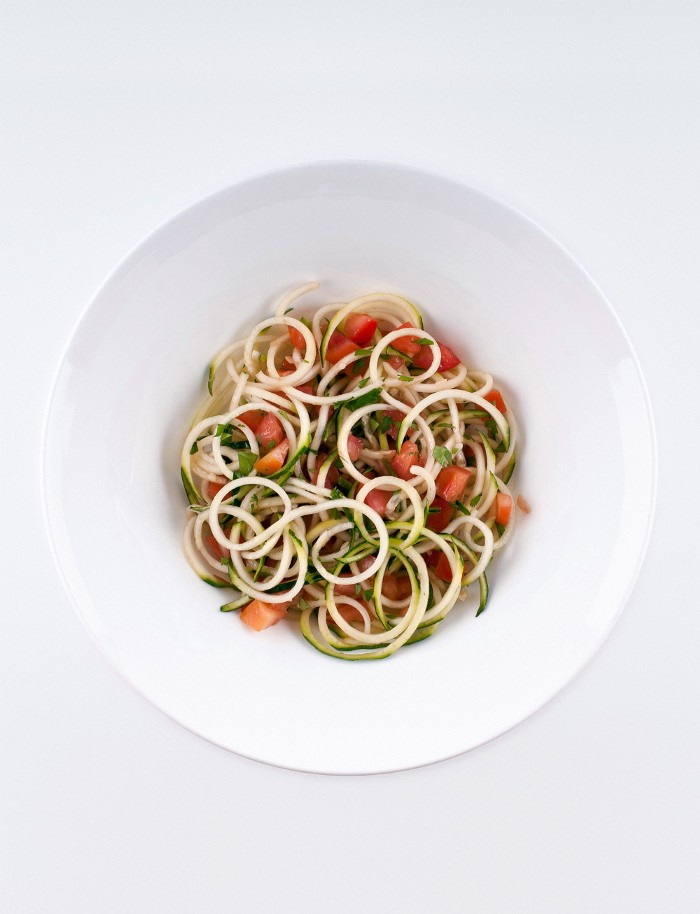 RAW PASTA From my book eat awesome.