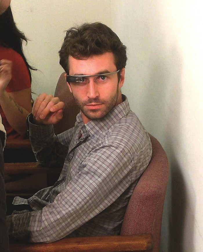 James deen wearing my glass