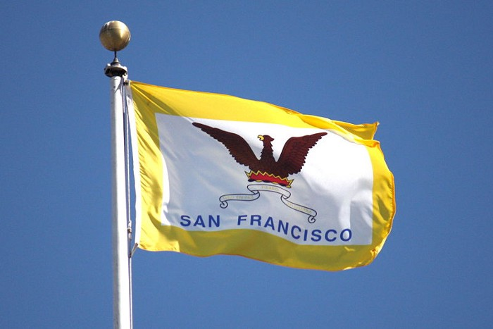 Flag of San Francisco from Wikipedia