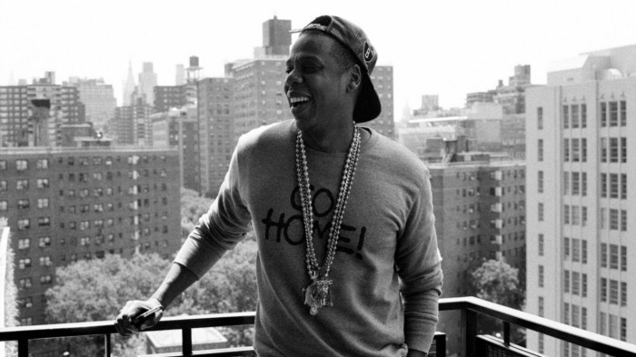 Jay-Z, on top of His world