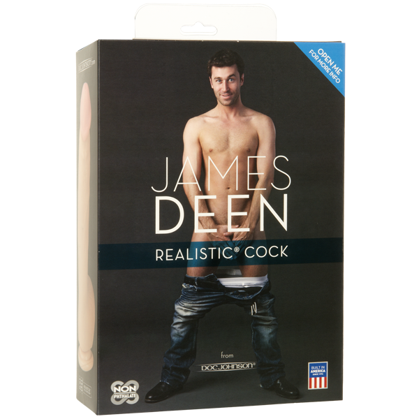 Doc Johnson's James Deen Realistic Cock