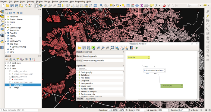 Automating GIS processes with graphical modeler in QGIS | Gispo