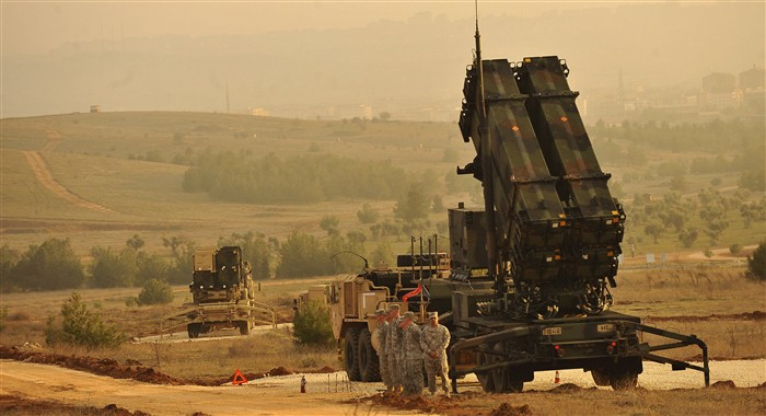 U.S. Patriot Missiles in Turkey. Defense Department photo