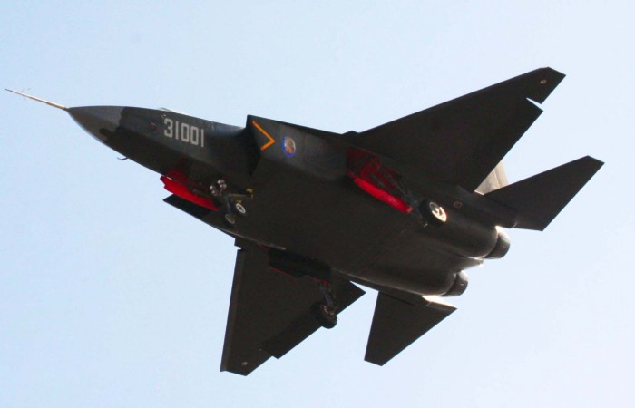 The Chinese J-31. Via Chinese Internet