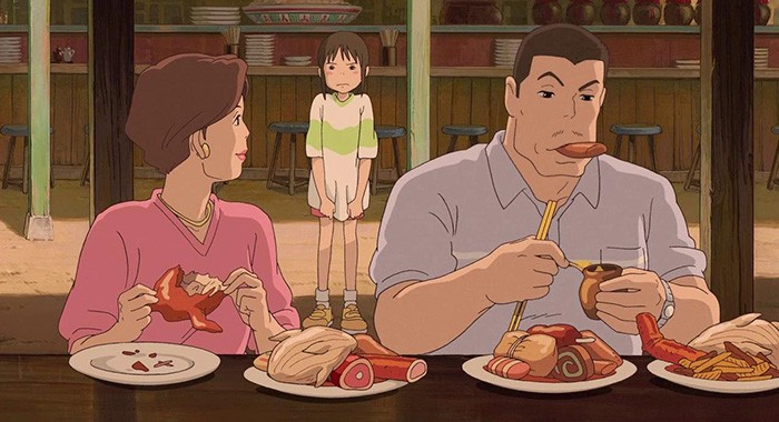 After 15 Years Ghibli Studio Finally Explained Why Chihiro S Parents Turned Into Pigs By Studio Ghibli Merchandise Medium
