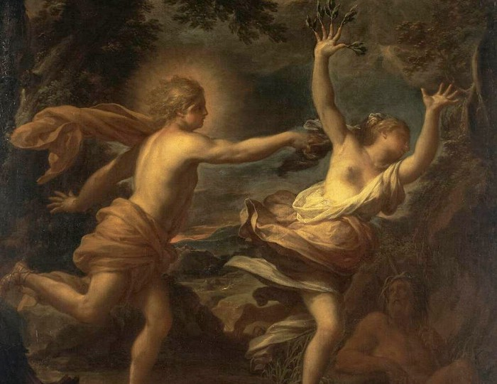 Apollo and daphne by Francesco Trevisani