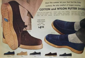 Men's 1950s Shoes Styles- Classics to