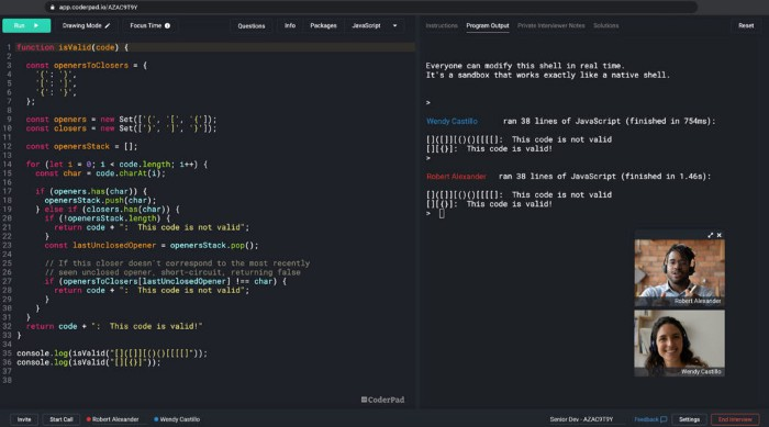 Pair Programming for Assessing Coding Skills in the Interview 1
