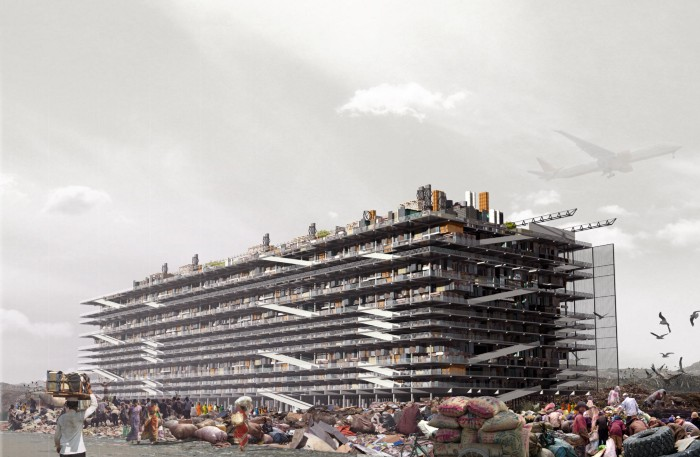 A dream of dharavi. Ugo architecture and design concept art