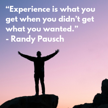 Dr. Randy Pausch quote