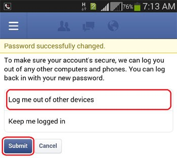 How do I use facebook change password mobile - Le Anh Dung
