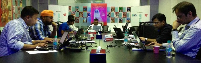 GEN Editors Lab hackdays at India Today