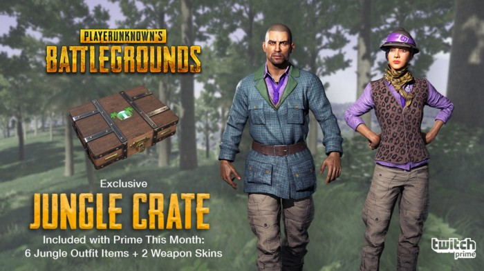 Twitch Prime Members, Trek into the Wild with the Exclusive PUBG