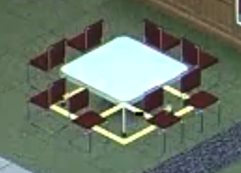 The Sims Object Placement Tool Moving a Table