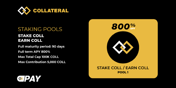 Collateral Staking Launch