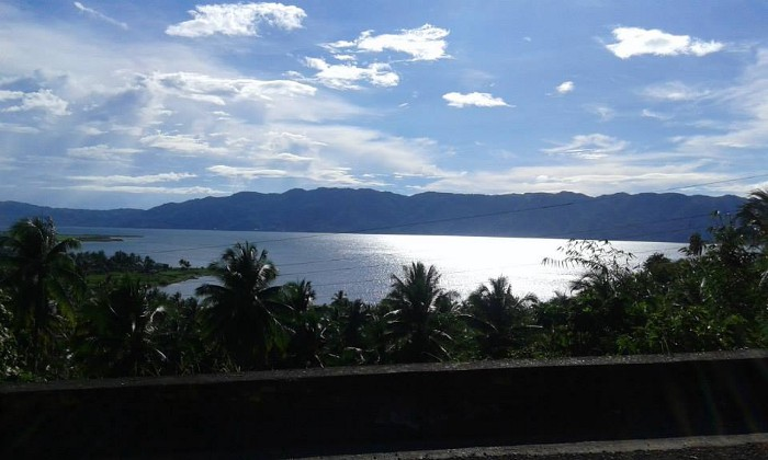 View of Lake Mainit from Kitcharao, Agusan del Norte side
