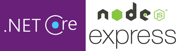 Experience on working with ASP Net (Core) and NodeJS
