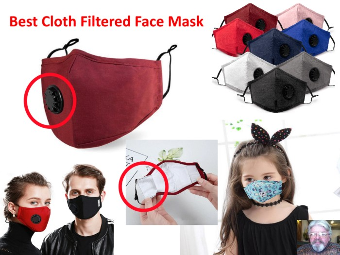 Best Reusable Cloth PPE Face Mask with Replaceable PM25 Filter Review
