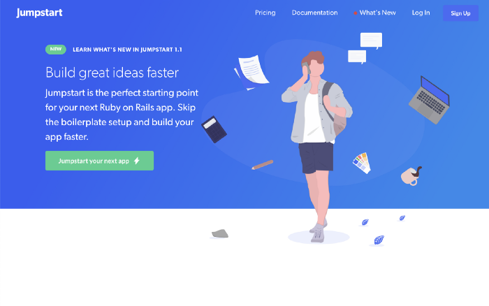 Jumpstart home page