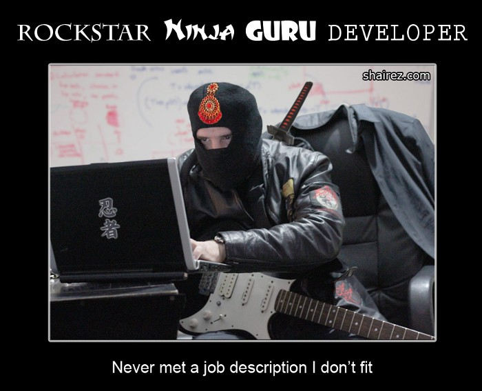 Tech demand for riffs and ninjutsu is nearing an all-time low.  But will it last?