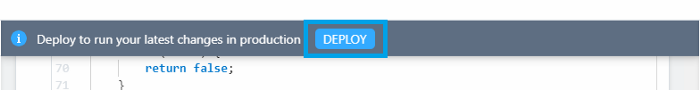 deploy pipedream step node.js function