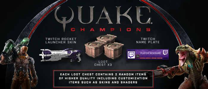 Celebrate QuakeCon with Twitch Prime loot, Twitch Drops, and