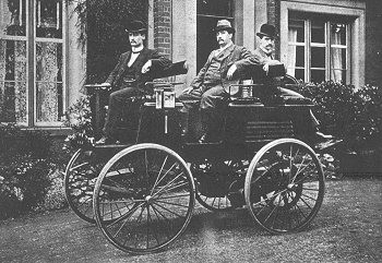 The Thomas Parker electric car, the first practical electric vehicle and early Tesla predecessor from 1895