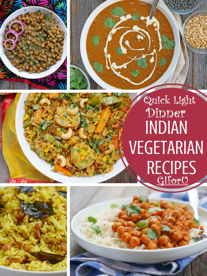 Quick Light Dinner Recipes Vegetarian Indian  by Shreya Sharma