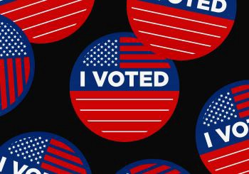"""Image of """"I Voted"""" Buttons"""