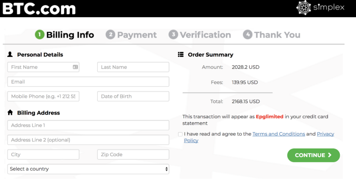 How To Buy Bitcoin Btc Or Bitcoin Cash Bch In The Btc Com Wallet -