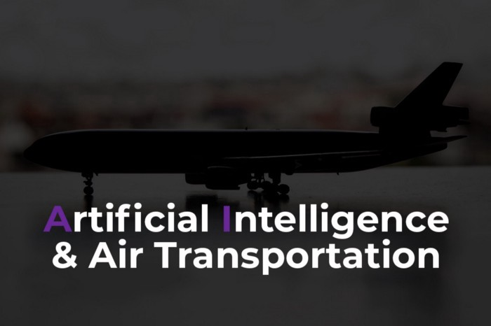 Beyond Drones: Artificial Intelligence and Air Transportation